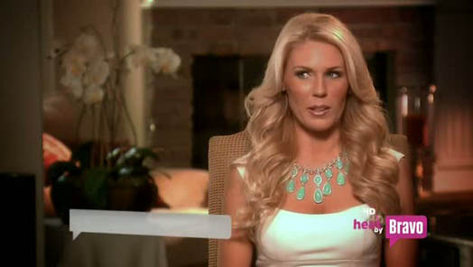 gretchen rossi more horsey than usual