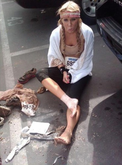 Gretchen_Rossi_injured_2011_mud_run